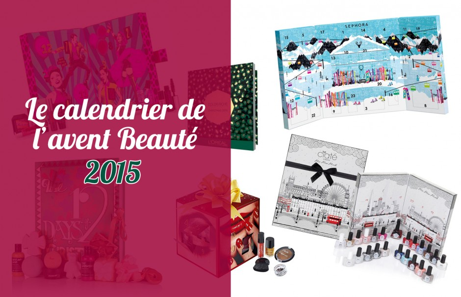 le calendrier de l avent beaut 2015 tfab blog. Black Bedroom Furniture Sets. Home Design Ideas