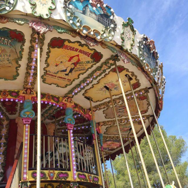 Balade du dimanche walk family park promenade sunday carousel babygirlhellip