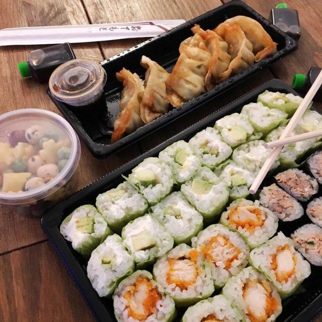 Soire Sushi ce soir sushi maki japanesefood japon yummy lovehellip