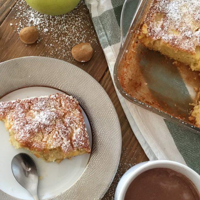 La ptisserie du dimanche cooking cake almond apples yummy nofilterhellip